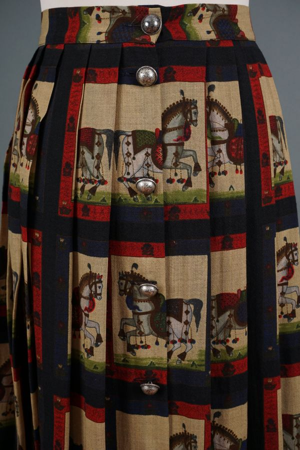 Long skirt with horses Price